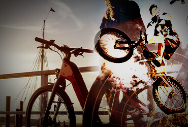 دوچرخه و ماشین های برقی